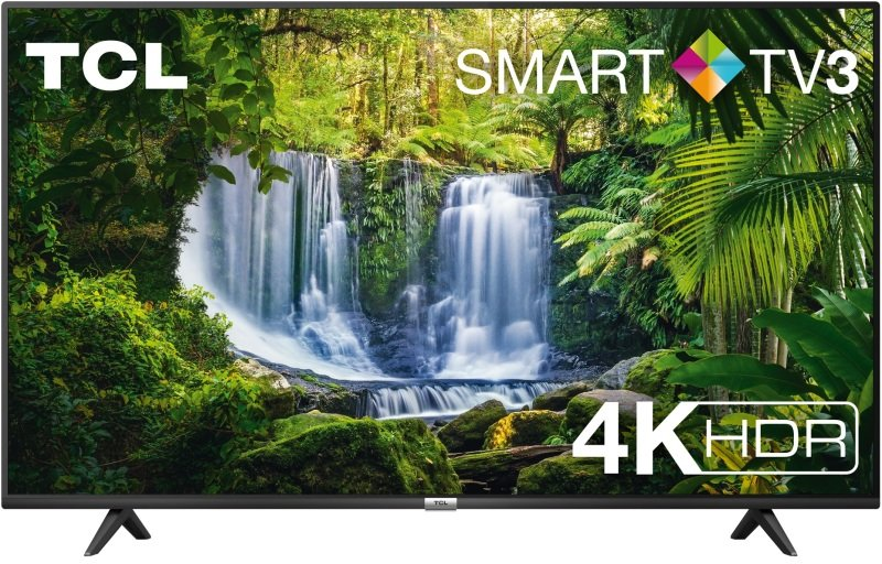 """TCL 43P610K 43"""" Television, 4K Ultra HD, Smart TV with Freeview P"""