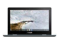 "Asus Chromebook Flip C214MA Celeron N4000 4GB 32GB eMMC 11.6"" Touchscreen Convertible Chromebook"