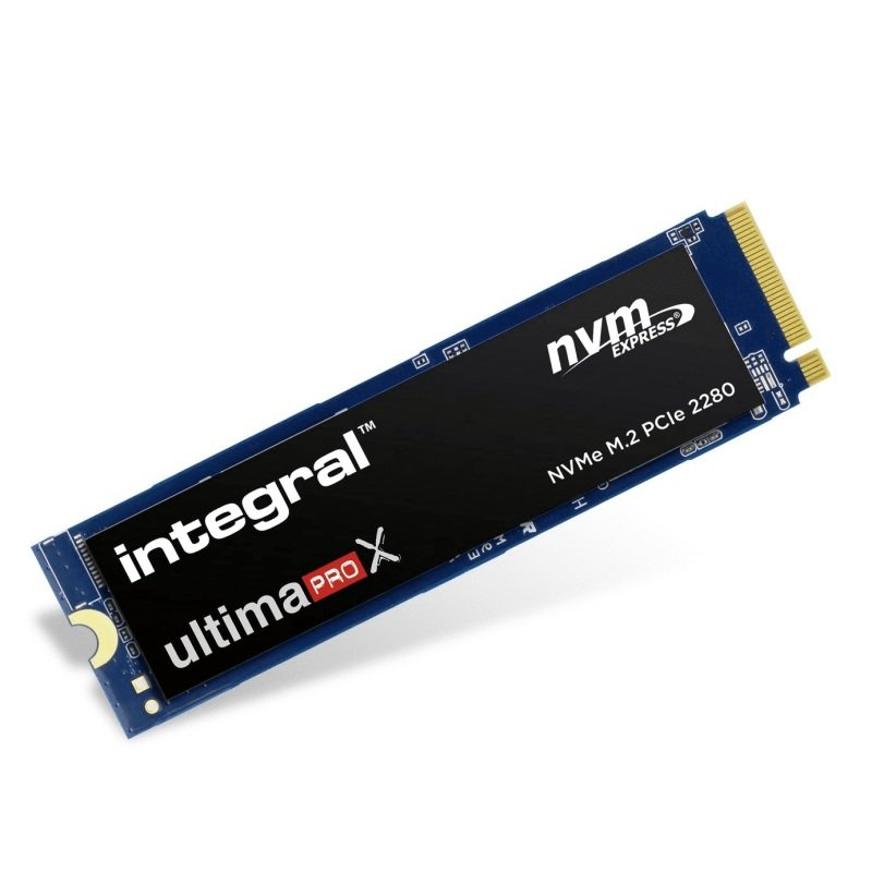 Integral UltimaPro X V2 2TB M.2 2280 PCIe NVMe V2 SSD - Seq. Read 3400MBs/Write 3000MBs