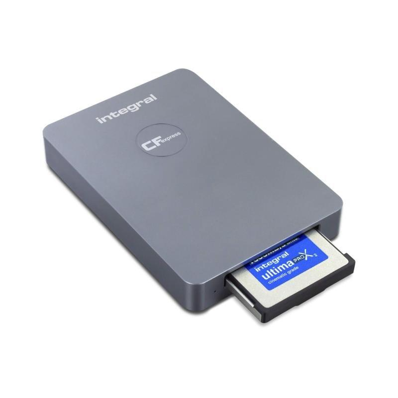 Integral USB 3.0 Cfexpress Type B 2.0 Card Reader