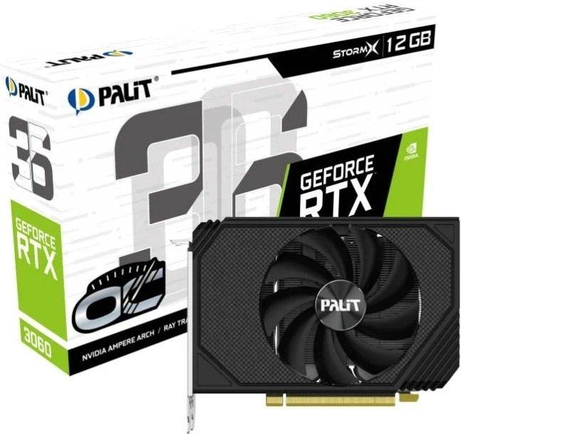 Palit GeForce RTX 3060 12GB StormX OC Ampere Graphics Card