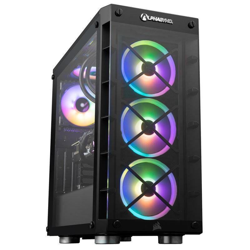 AlphaSync iCUE RTX 3070 Core i7 11th Gen 32GB RAM 1TB SSD 2TB HDD Gaming Desktop PC