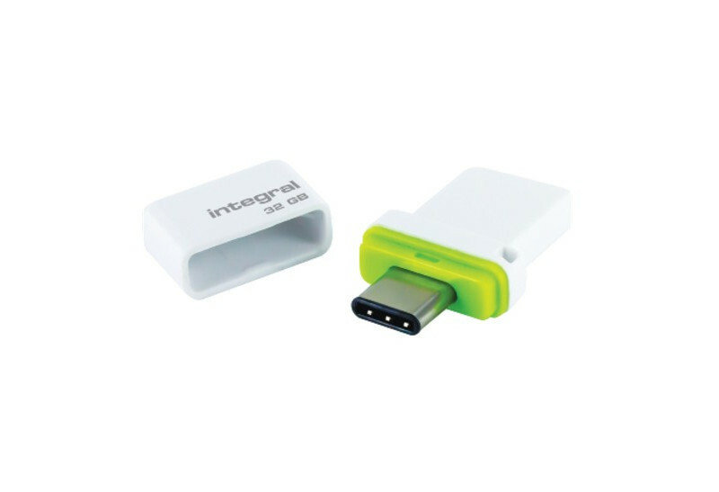 Integral 32GB Fusion Dual USB-C & USB 3.0 (Read/Write 200/25 MBs)