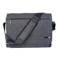 """Techair Dark Grey Evo Pro Messenger Bag for 14""""-15.6"""" Laptops"""