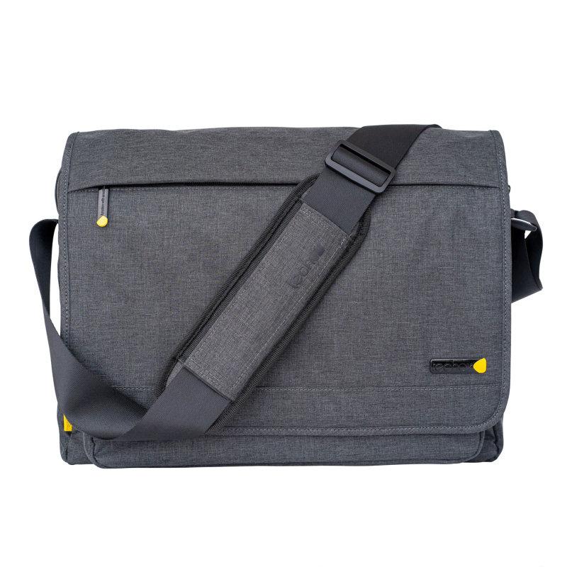 """Image of Techair Dark Grey Evo Pro Messenger Bag for 14""""-15.6"""" Laptops"""