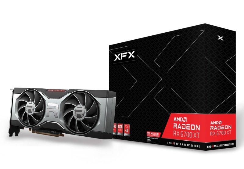 XFX Radeon RX 6700 XT 12GB Graphics Card