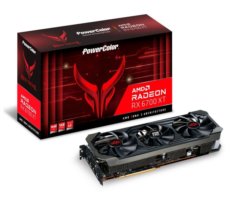 PowerColor Radeon RX 6700 XT 12GB Red Devil Graphics Card