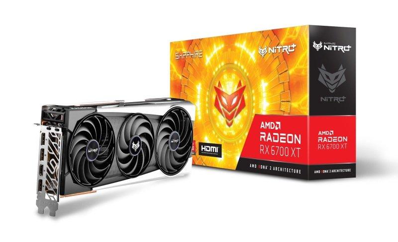 Sapphire Radeon RX 6700 XT 12GB NITRO+ Graphics Card