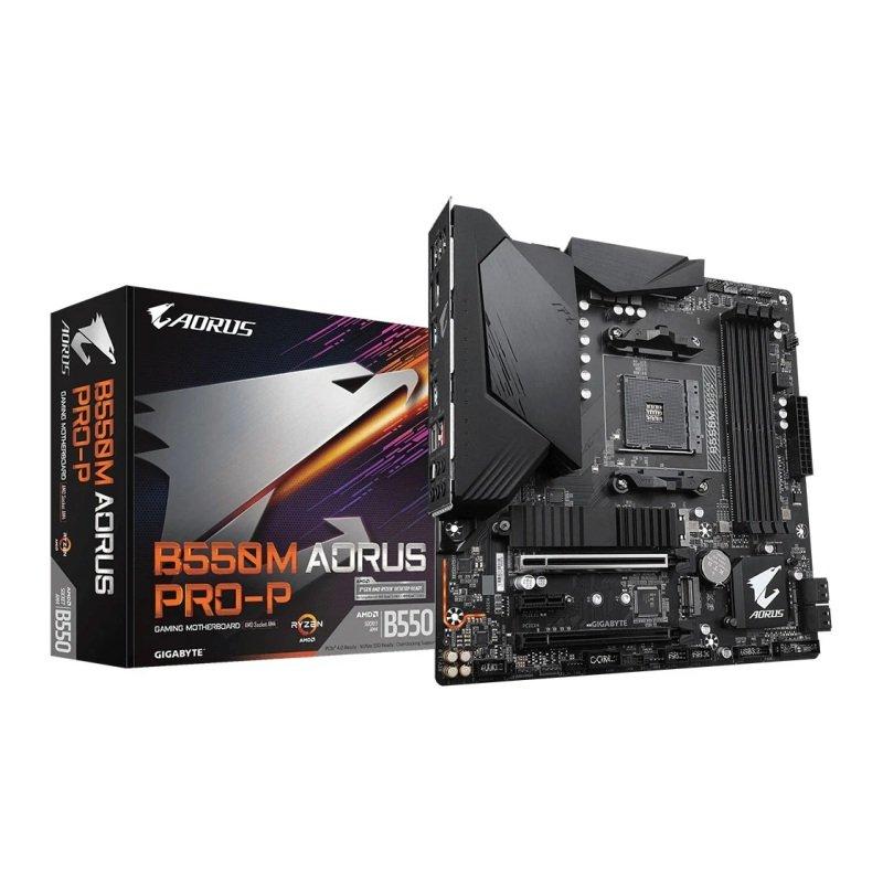 Gigbayte B550M AORUS PRO-P mATX Motherboard