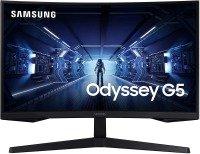 "Samsung Odyssey G5 LC27G55TQWRXXU 27"" Curved Gaming Monitor"
