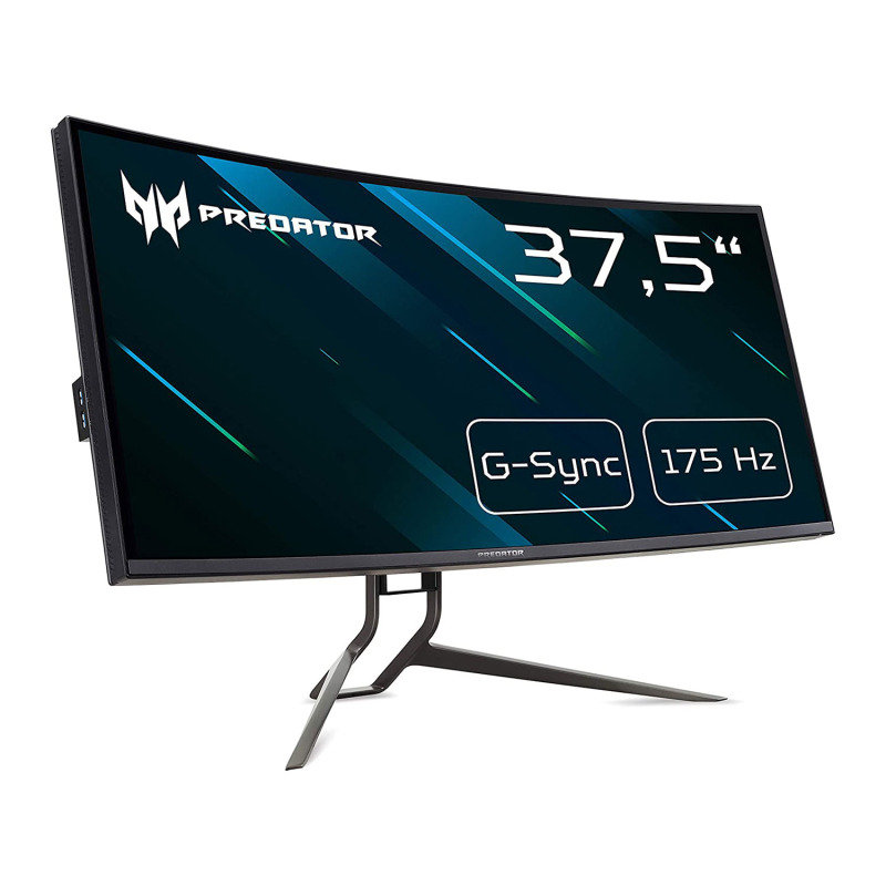 "Image of Acer Predator X38P 37.5"" IPS Curved 144Hz G-Sync Gaming Monitor"