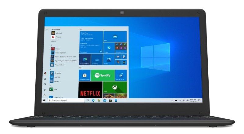 "CODA 120 Cloudbook N4020 4GB 64GB eMMc 12.5"" Win10 Home S Laptop"