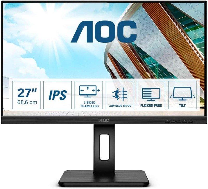 Image of AOC 27P2Q 27'' Full HD LED Monitor