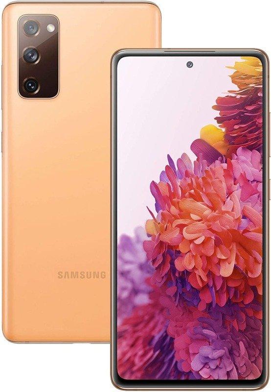 Samsung Galaxy S20 FE 128GB Smartphone - Vitalised Orange