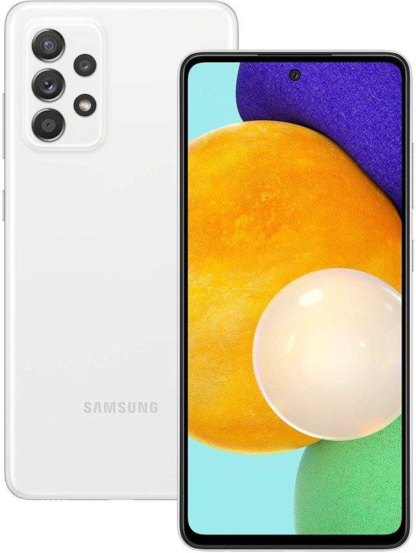 Image of Samsung Galaxy A52 128GB 5G Smartphone - White