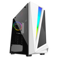 Neutron Lab advantage 340 Tempered Glass PC Case - White