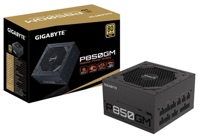 Gigabyte P850GM 850W Modular 80+ Gold PSU