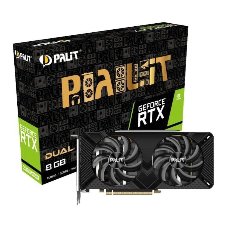 Palit GeForce RTX 2060 SUPER 8GB DUAL Graphics Card