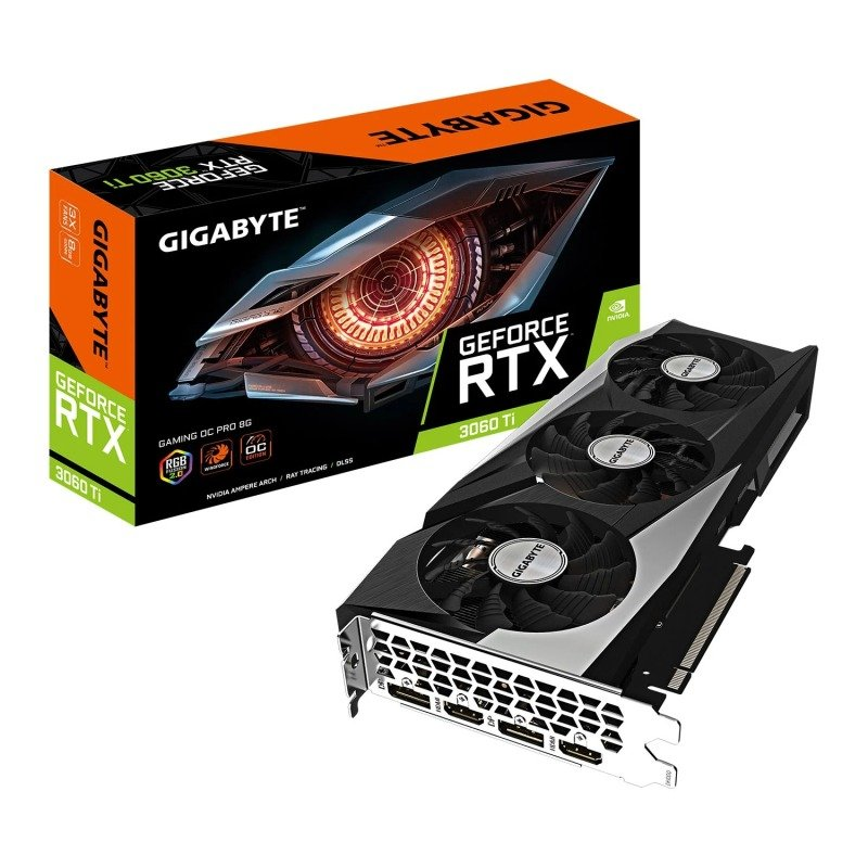 Gigabyte GeForce RTX 3060 Ti 8GB GAMING OC PRO V2 Ampere Graphics Card