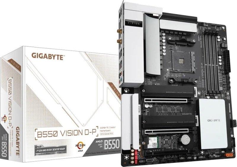 Gigabyte B550 VISION D-P ATX Motherboard