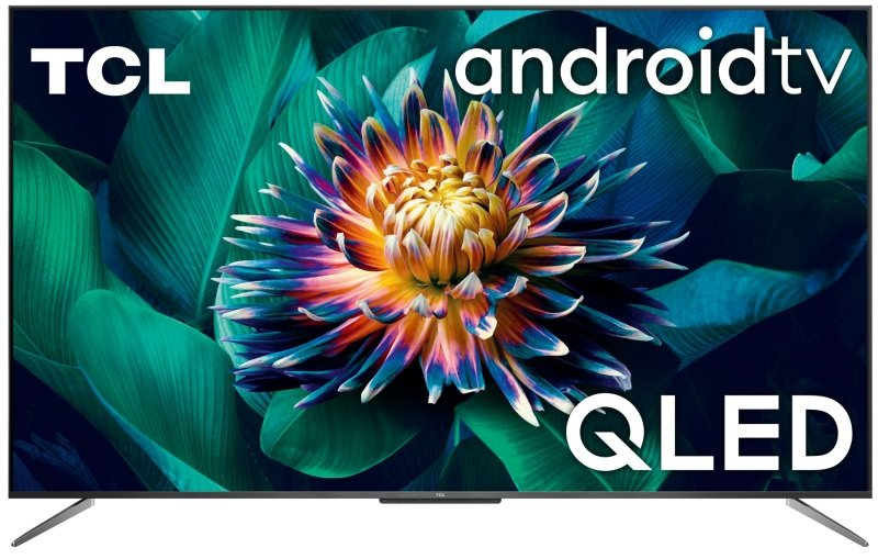 """Image of TCL 55C715K 55"""" QLED Television, 4K Ultra HD, Smart Android TV with Freeview Play"""