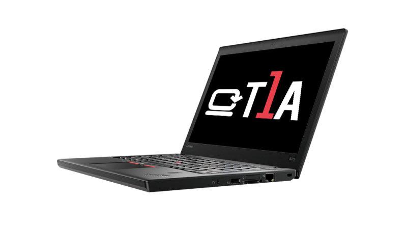 "T1A Refurbished Lenovo ThinkPad A275 AMD A12 8GB 256GB SSD 12.5"" Win10 Pro Refurbished Laptop"