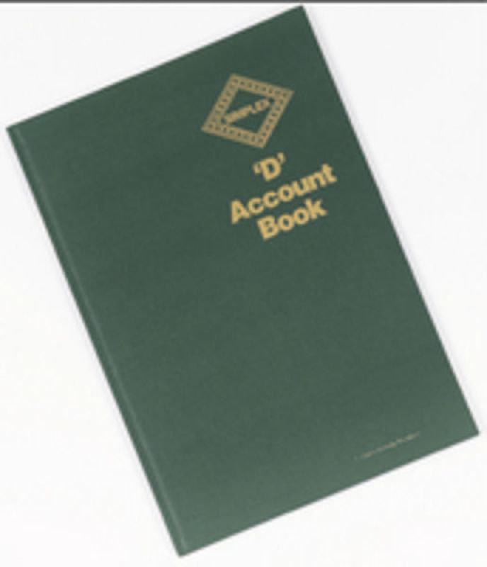 Simplex D Accounts Book Pack of 1