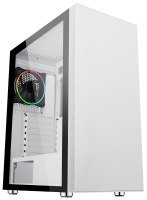 Neutron Lab Lunar 3702 Mid Tower Tempered Glass PC Case - White