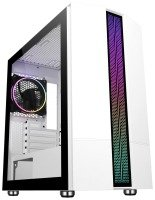 Neutron Lab Sniper AM01 M-ATX Tempered Glass ARGB PC Case - White