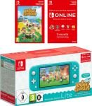 Nintendo Switch Lite Turquoise With Animal Crossing & 3 months Nintendo Switch Online