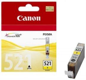 Canon CLI 521Y Yellow Ink Cartridge