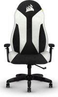 CORSAIR TC60 FABRIC Gaming Chair - Relaxed Fit - White