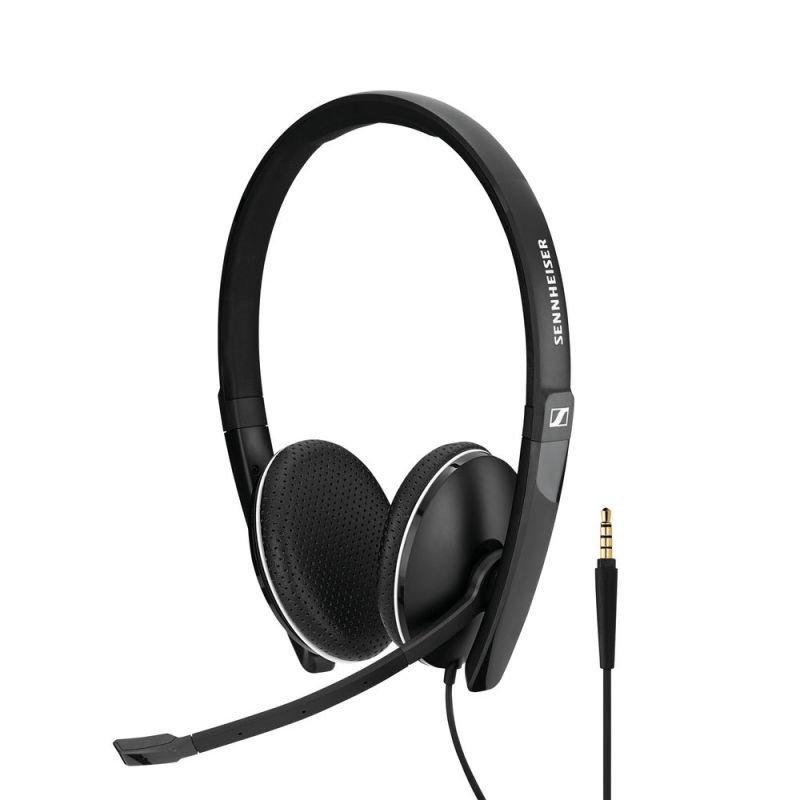 EXDISPLAY Sennheiser SC165 3.5mm Binaural Headset Black