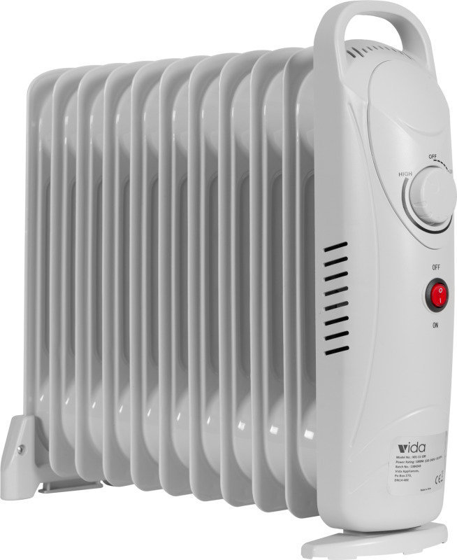 EXDISPLAY Vida 11 Fin Oil Heater (White)