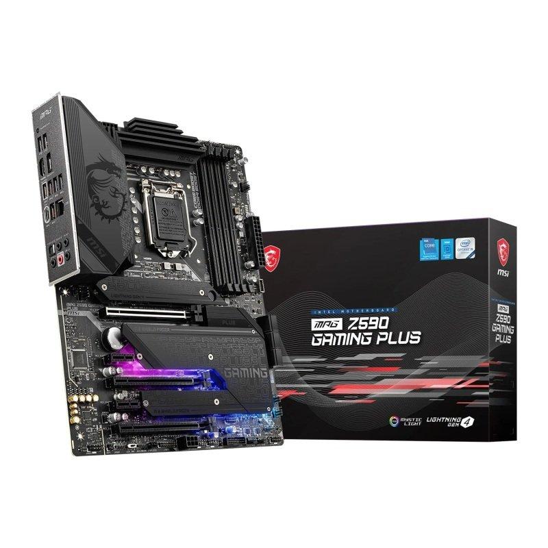 MSI MPG Z590 GAMING PLUS ATX Motherboard