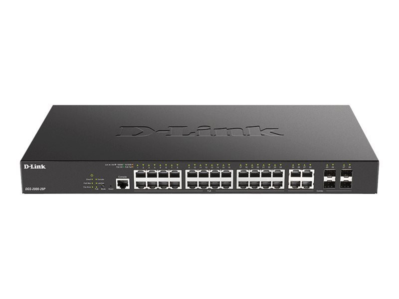 D-Link DGS-2000-28P - 28 Ports Manageable Ethernet Switch