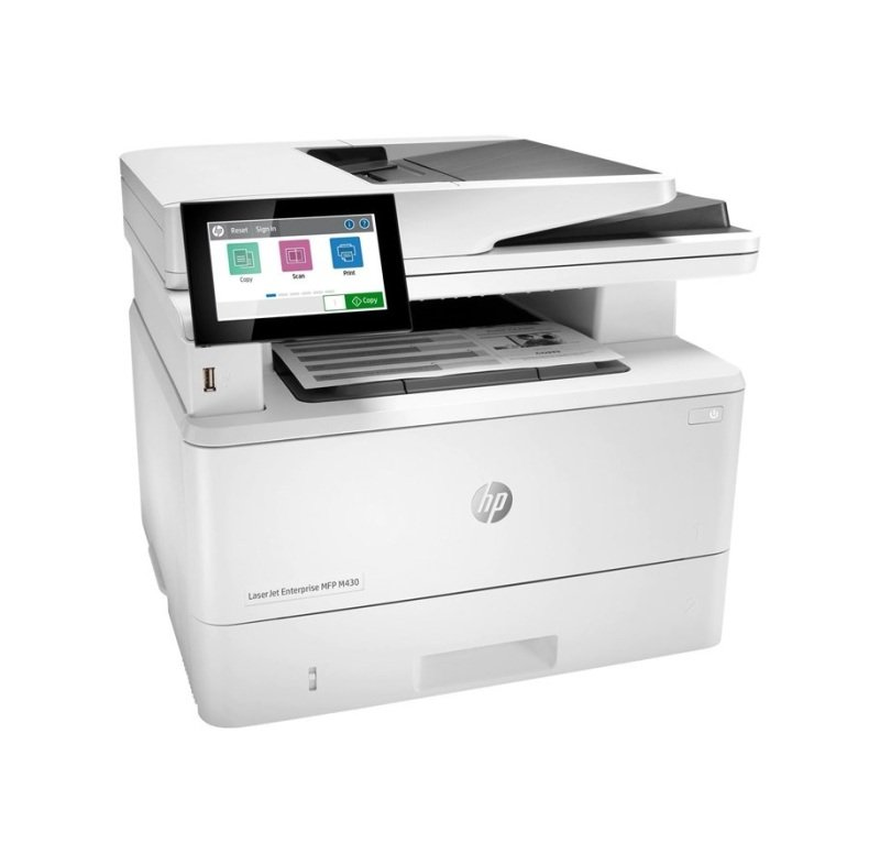 HP LaserJet Enterprise MFP M430f A4 Mono MF Laser Printer - Available on HP Print at Your Service