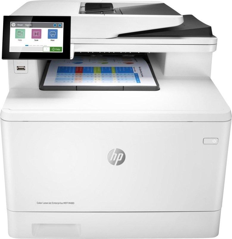 HP Color LaserJet Enterprise MFP M480f A4 Colour MF Laser Printer - Available on HP Print at Your Service