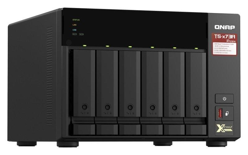 QNAP TS-673A-8G - 6 Bay Desktop NAS Enclosure with 8GB RAM