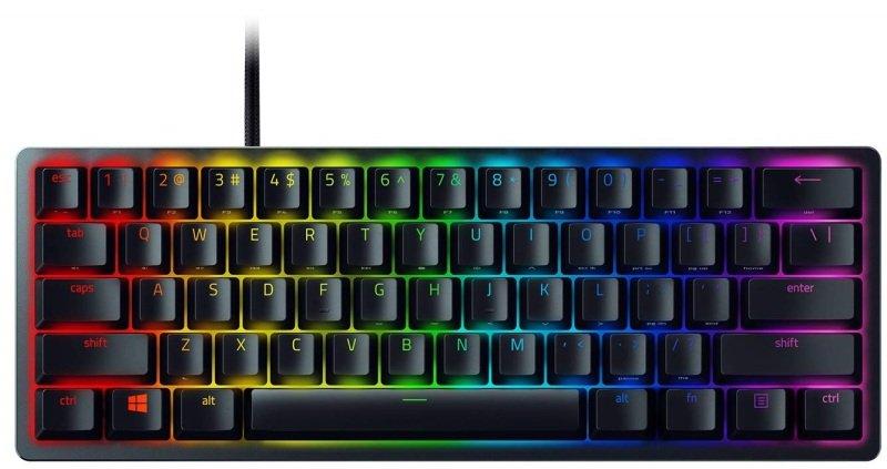 Image of Razer Huntsman Mini 60% Optical Gaming Keyboard (Red Switch) - UK Layout