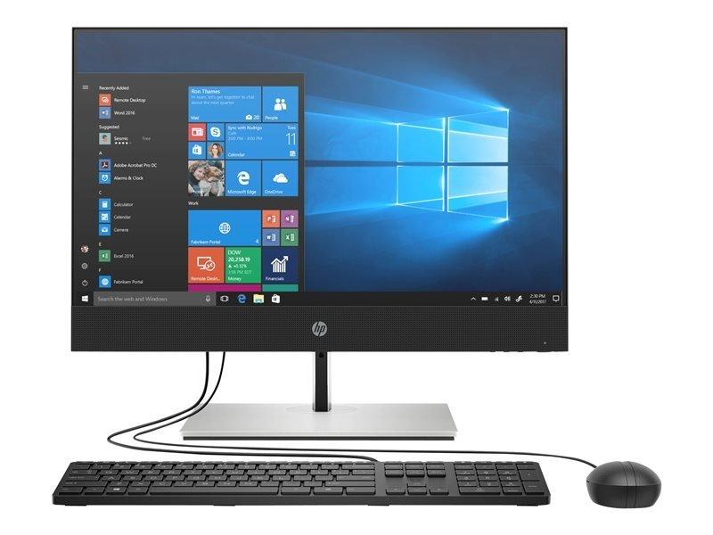 """HP ProOne 400 G6 20"""" AIO Core i5 10th Gen 8GB RAM 256GB SSD Win10 Pro Desktop PC"""