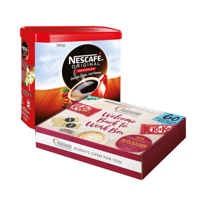 Nescafe Coffee Granl 750G Buy 2 Get FOC Nestle Box Nl819862