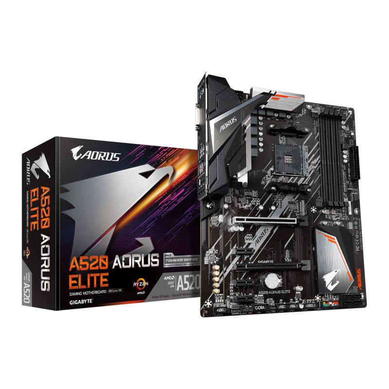 Gigabyte A520 AORUS ELITE ATX Motherboard