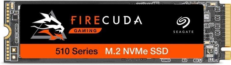 FireCuda 510 SSD 500Gb PCIe Gen3 x4 NVMe