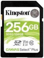 Kingston Canvas Select Plus 256GB UHS-I SDXC Memory Card