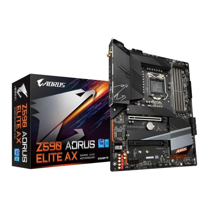 Gigabyte Intel Z590 Aorus Elite AX ATX Motherboard