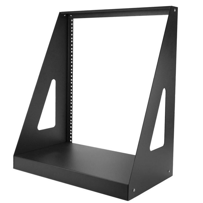 StarTech 2 Post Open Frame Rack - 12U Heavy Duty Rack - Compact - Open Frame - Network Equipment Rac