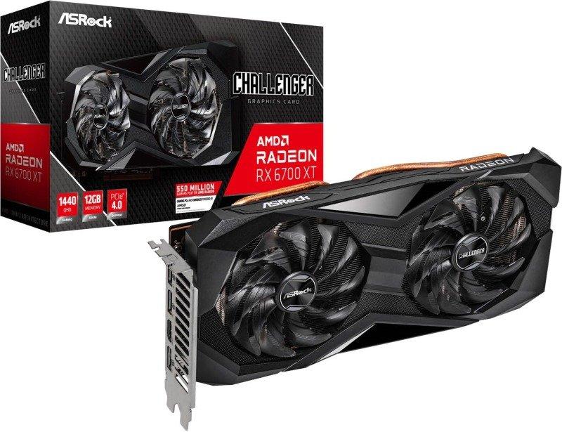 Asrock Radeon RX 6700 XT Challenger D 12GB Graphics Card