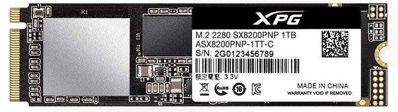 EXDISPLAY Adata XPG SX8200 Pro M.2 1TB SSD