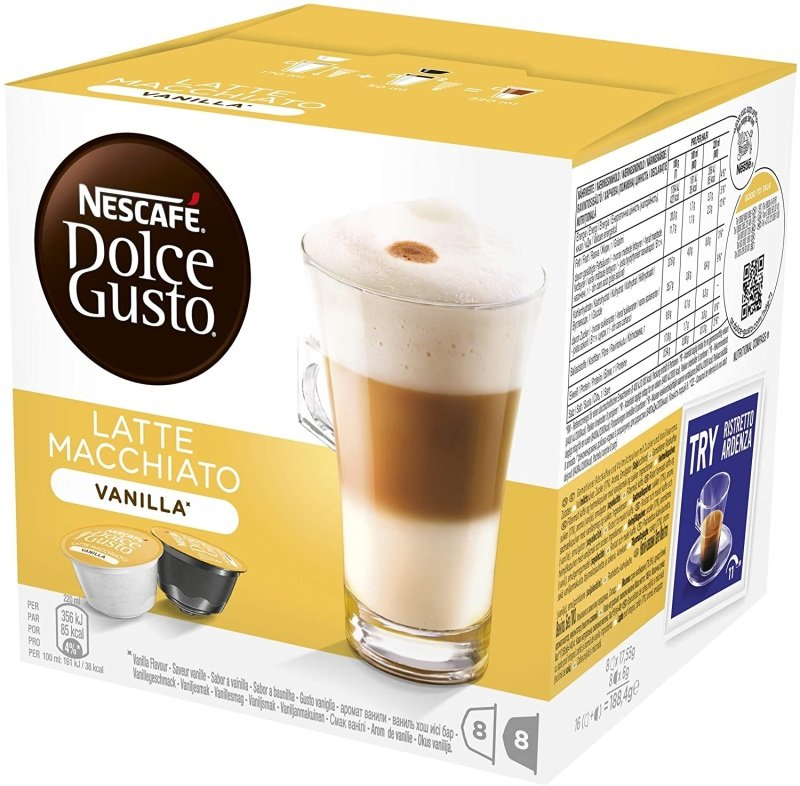 Nescafe Dg Vanilla Latte Macchiato Pk3